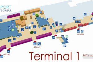 nice aeroport terminal 1